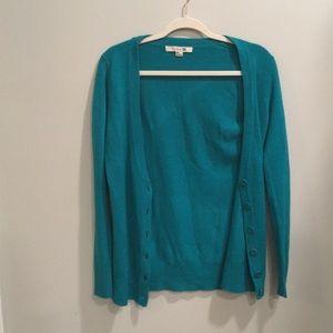 teal cardigan // size medium